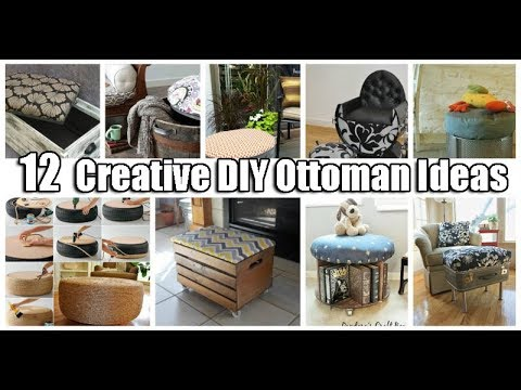 12  Creative DIY Ottoman Ideas