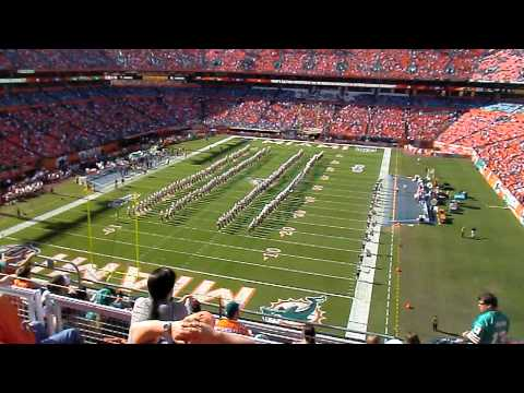 Bethune Cookman Marching Wild Cats band playing Chris Brown Dueces