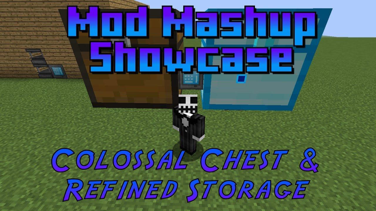 Minecraft: Refined Storage & Colossal Chests (Mod Mashup Showcase)