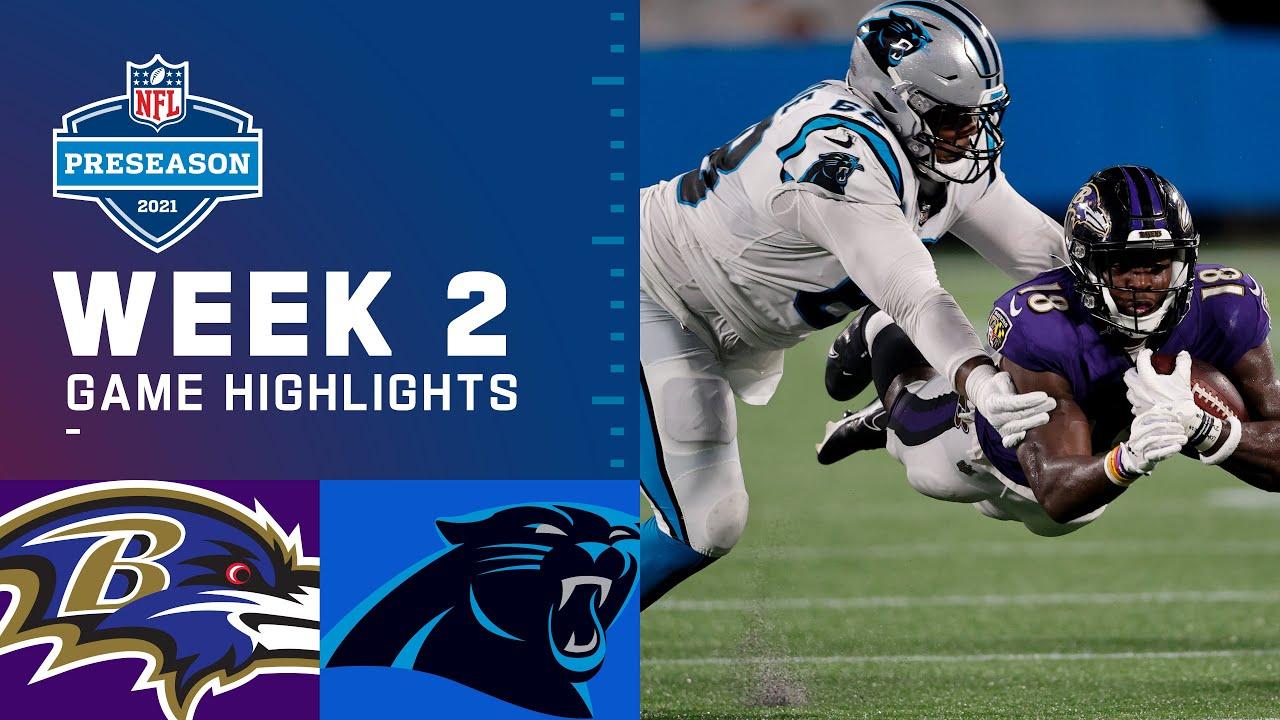Download Baltimore Ravens vs. Carolina Panthers   Preseason Week 2 2021 NFL Game Highlights