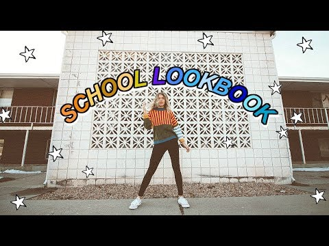 SCHOOL LOOKBOOK 2018 | Marla Catherine