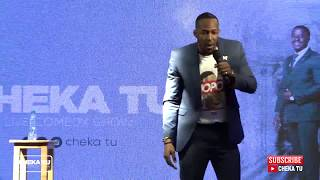 CHEKA TU Queens Edition Idris Sultan kwenye stage