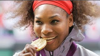Serena Williams Olympics Gold Medal