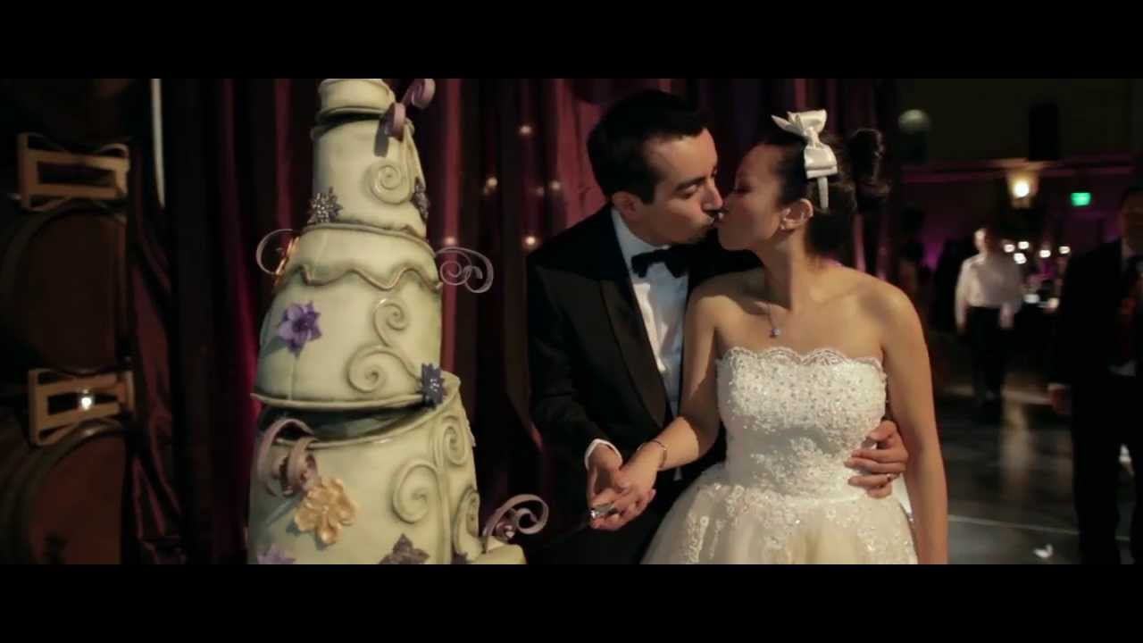 Pearl And Ricardo A Tim Burton Inspired Wedding Youtube