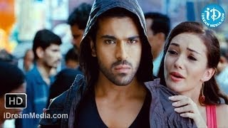 Yevadu Movie - Amy Jackson, Ram Charan Nice Scene