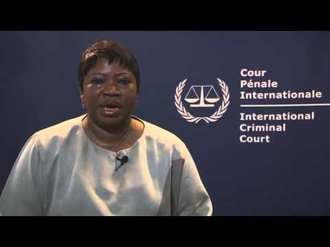 Statement of the ICC Prosecutor on concluding the preliminar