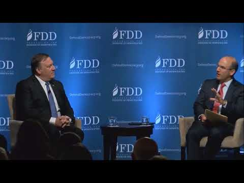 #FDDSummit - Discussion with CIA Dir. Mike Pompeo