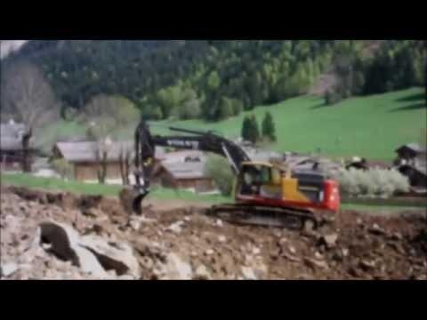Volvo EC380 E L - Louis Gravier - terrassement à La Clusaz