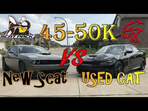 New 2019 Scatpack or Used 2015/2016 Hellcat - Which is better?