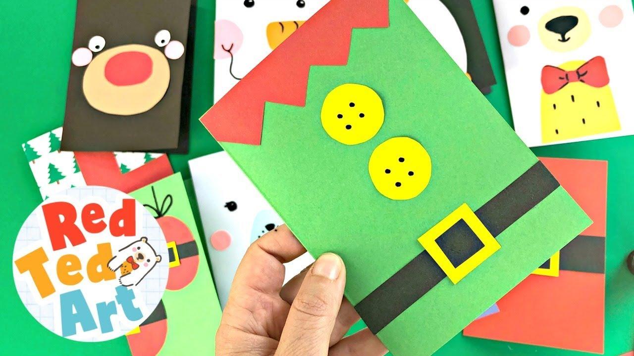 Fun Christmas Card Ideas That Kids Can Make Fun With Kids