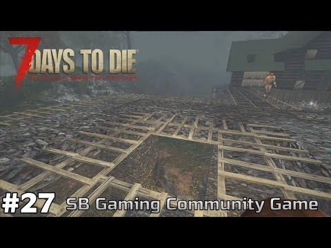 Horde Defenses Completed - Survivor's Journal - Day 14 - 7 Days to Die [SBG Community Game] [ep27]