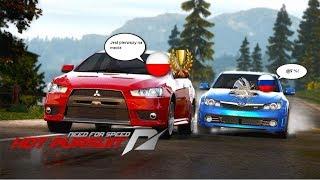 Занял два раза второе место в Онлайн гонке Need For Speed Hot Pursuit 2010