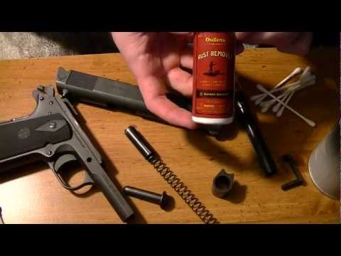 1911 Cleaning- Cleaner, Lube, Rust Remover