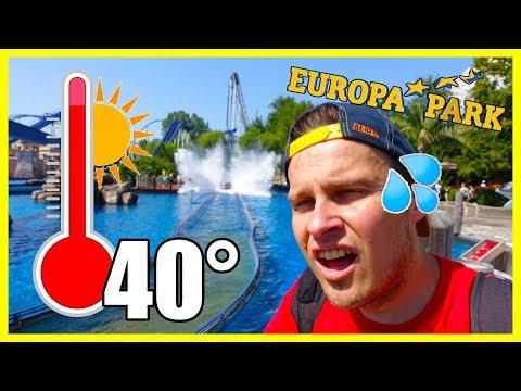 Bei Hitzerekord Im Europa-Park