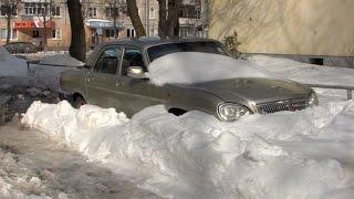 В Йошкар-Оле ликвидируют последствия снежного шторма