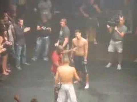 Sean Faris NEVER BACK DOWN OnSet Video! Cam Gigandet BOXING