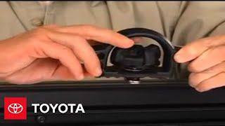 2007 - 2009 Tundra How-To: Tie-Down Cleats and Deck Rails | Toyota