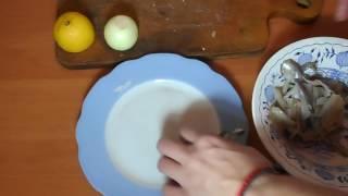 Рецепт с сырой мойвой