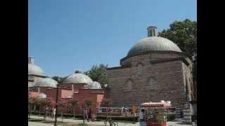 Outside Hagia Sofia and Blue Mosque, Istanbul, Turkey