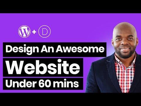 How to make a WordPress website with Divi - Divi builder tutorial 2019