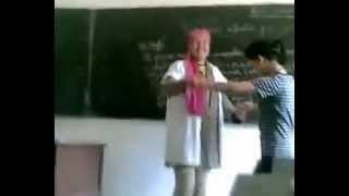 خطير لايفوتك معلمه مغربيه ترقص أمام الطلاب