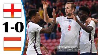 Англия Австрия 1 0 Обзор Товарищеского Матча 03 06 2021 HD