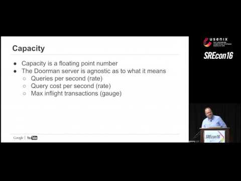 SREcon16 - Doorman: Global Distributed Client Side Rate Limiting