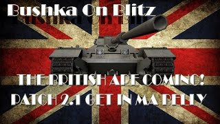 World of tanks blitz 2 1 British TD Lines Bushka ON Blitz