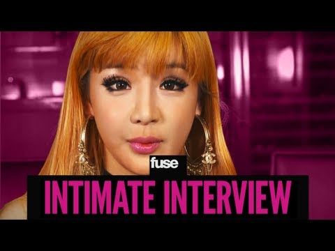 2NE1 Loves Watermelons & Porcupines - Intimate Interview