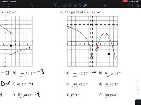 1.3 Limits Graphical And Analytical Connectionsap Calculus