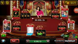 UNIVERSAL TEEN PATTI GAME KI VIDEO 4.LK BLIND  67 lk ki chal screenshot 4