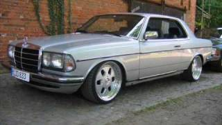 Mercedes Benz w123 280ce V8  Old school Mercedes Tuning