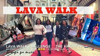 LAVA WALK CHALLENGE | Rampa pa more!!! ft.Lin Gab, Kyn, Aileen and Stephanie