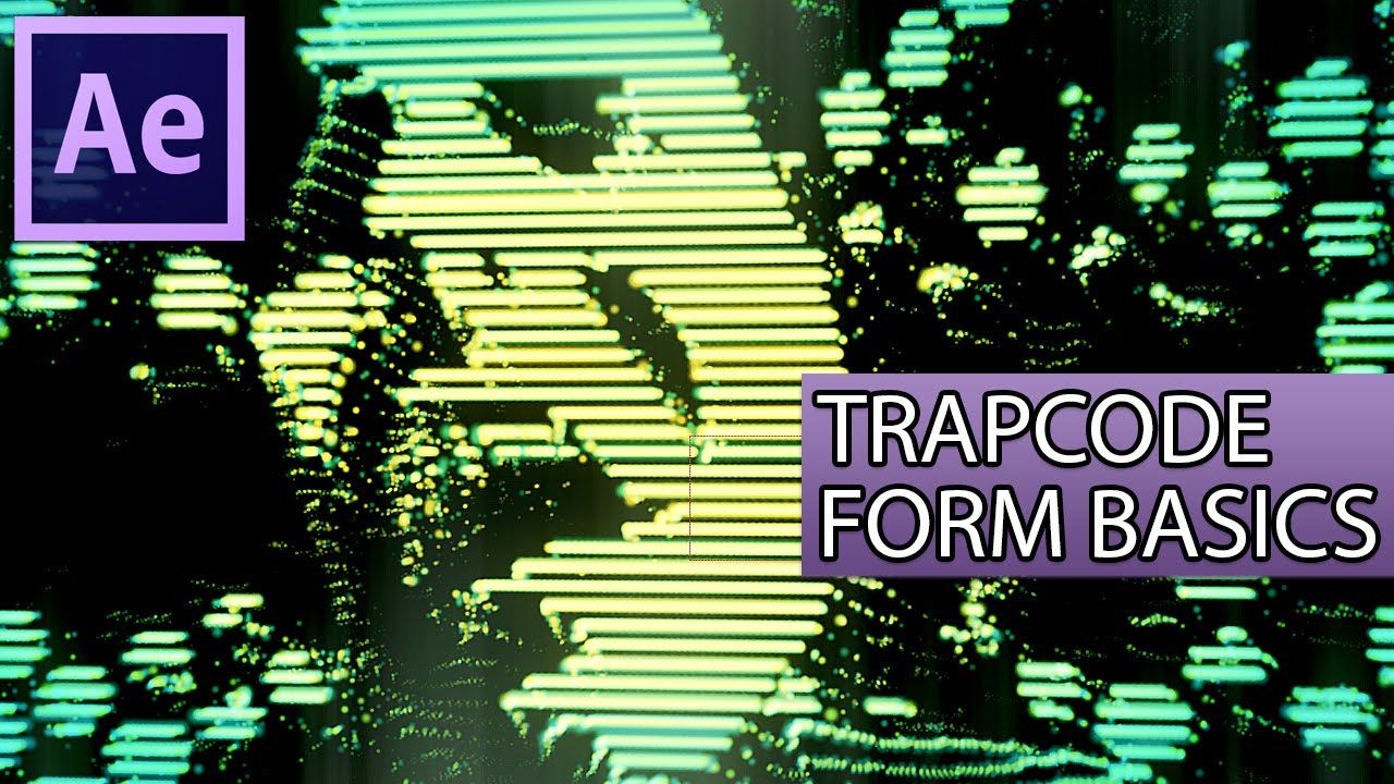 After Effects Tutorial Trapcode Form Basics Youtube