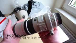 Unboxing Canon EF 300mm f4L IS USM