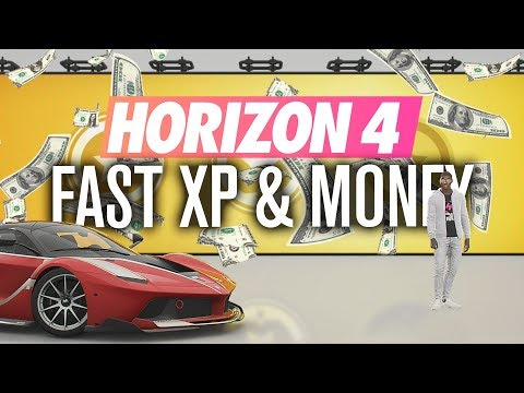 Forza Horizon 4: How To Make Money Fast And Get Unlimited