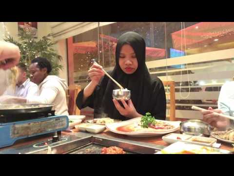 Korean BBQ Yee Hwa Restauran in Doha, Qatar 29032017 #vlog02