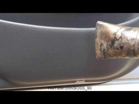 Как устранить царапины на пластиковых элементах салона автомобиля