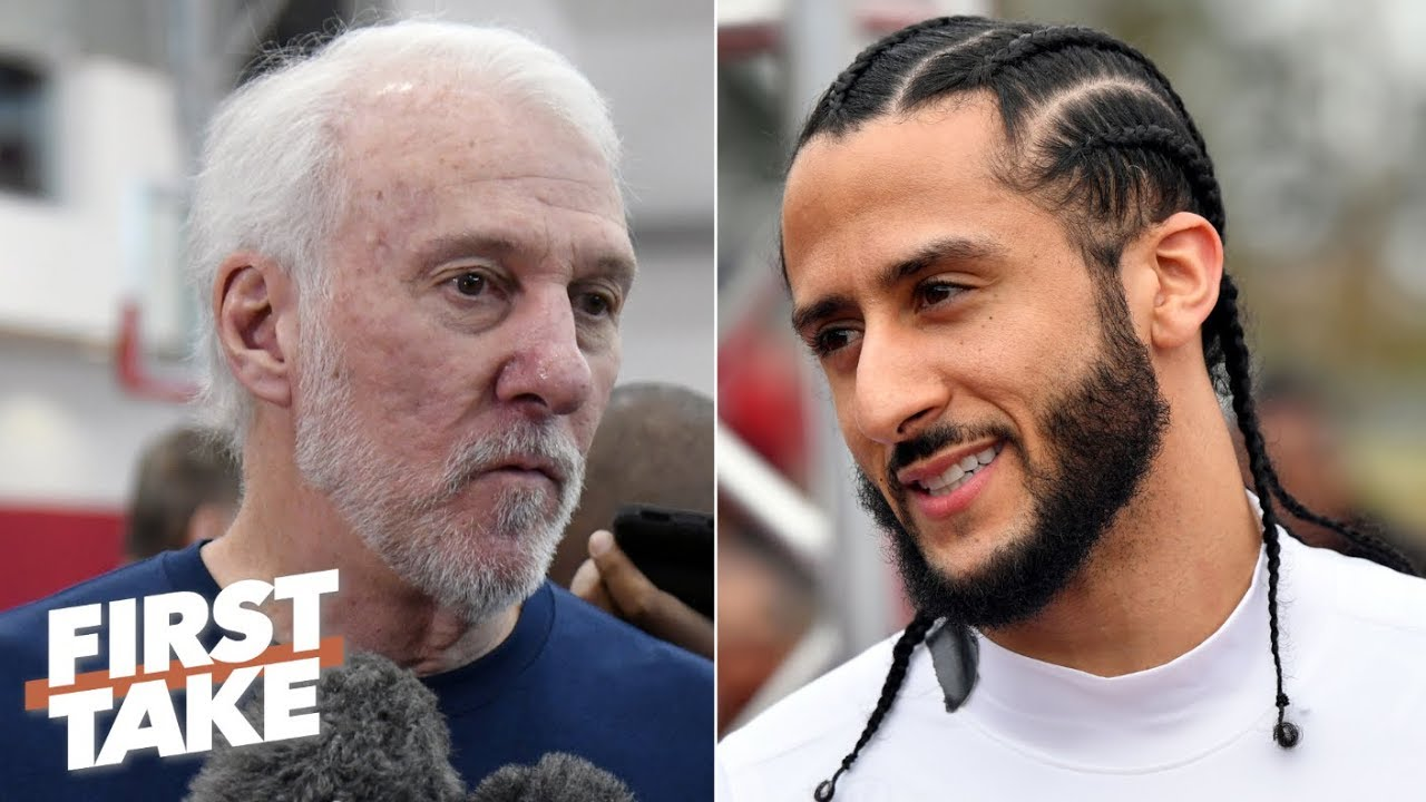 Gregg Popovich calls Colin Kaepernick's protest 'very patriotic' | First Take