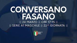 Serie A1M [22^]:  Conversano - Fasano 28-21