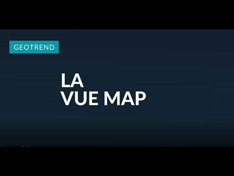 Geotrend - la vue Map