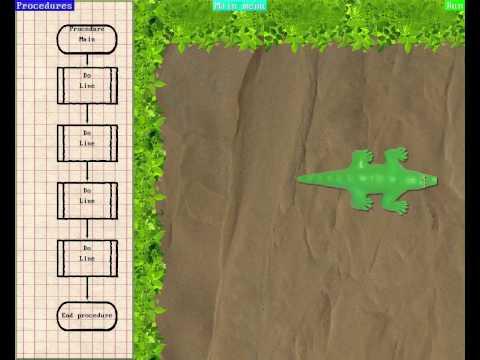 Croger gameplay