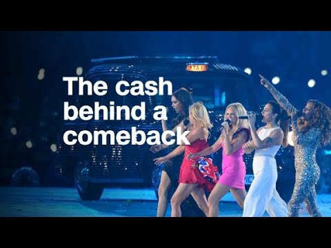 From Spice Girls to Backstreet Boys: The cash behind come...