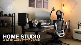 Music Studio Setup For Producers - DIY Home Studio Tour 2021