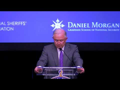 2018 Opioid Roundtable: Attorney General Jeff Sessions (Part 5) | Daniel Morgan Graduate School