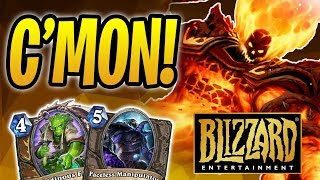 BLIZZARD SCREWED ME OUT OF A WIN | Ragnaros OTK Druid | The Boomsday Project | Hearthstone
