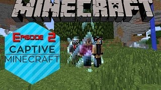 Minecraft Captive Survival!! EP 2 - Stairway to Hell