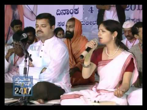 SUVARNA NEWS - RAMDEV GETS SUPPORT FROM BLINDS