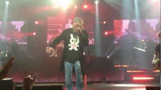 Guns N Roses Civil War Las Vegas Hard Rock 12/30/2012.MOV