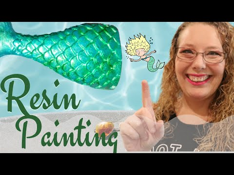 Learn how to ADD dimension & depth by DRY painting pigments RIGHT into a resin mold. Tips to DIY
